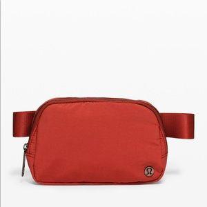 NWT lululemon everywhere belt bag red magma